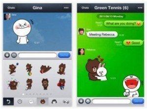 Cómo es Line el nuevo servicio de mensajería