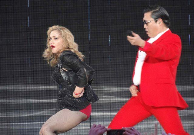 Video: Madonna baila el 'Gangnam style' con PSY