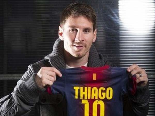 Ya nació Thiago, el primer hijo de Lionel Messi