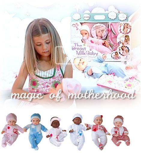 Madres indignadas: La polémica muñeca que hay que amamantar