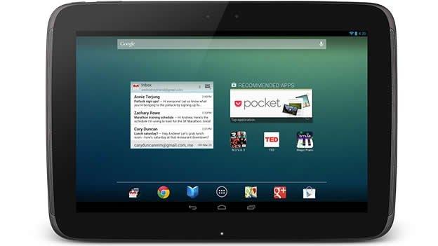 Cómo funciona la tableta Nexus 10 de Google