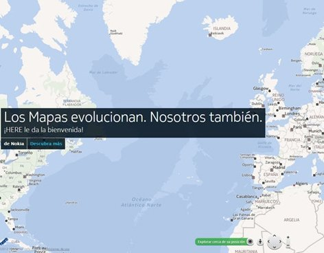 Nuevo servicio de mapas Nokia Here - Cómo funciona