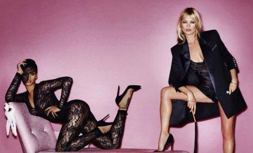 Fotos atrevidas de Rihanna y Kate Moss juntas