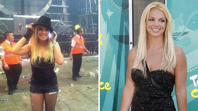 ¿Cuánto cobra la doble de Britney Spears?