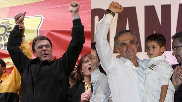 Diferencias entre Miguel Ángel Mancera y Marcelo Ebrard