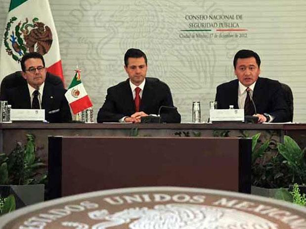 La política de seguridad de Enrique Peña Nieto