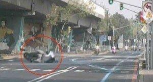 Video: Terrible accidente de un escolta de Enrique Peña Nieto