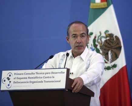 Felipe Calderón modificó la seguridad para ex presidentes