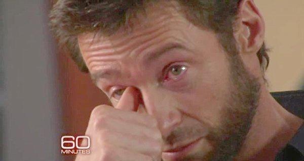 Video: El llanto de Hugh Jackman por el abandono de su madre