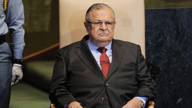 El presidente de Iraq sufrió un infarto
