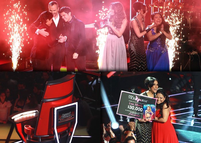 Luz María Ramírez es la ganadora de La Voz... México