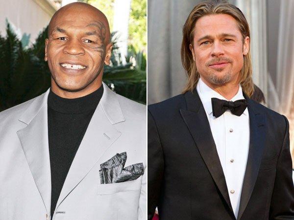 Esposa de Mike Tyson le fue infiel con Brad Pitt