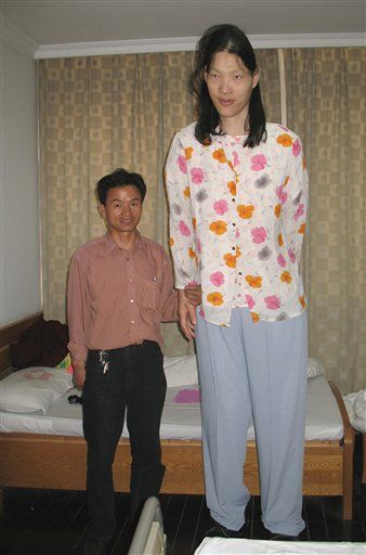 Falleció la mujer más alta del planeta
