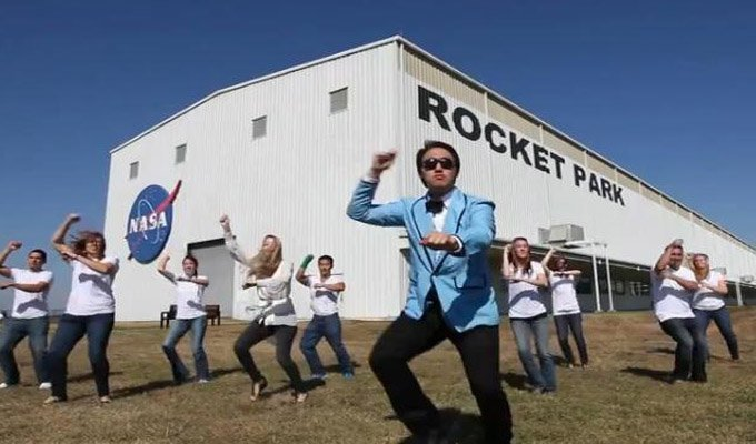 Video insólito: Integrantes de la NASA bailan el Gangnam style