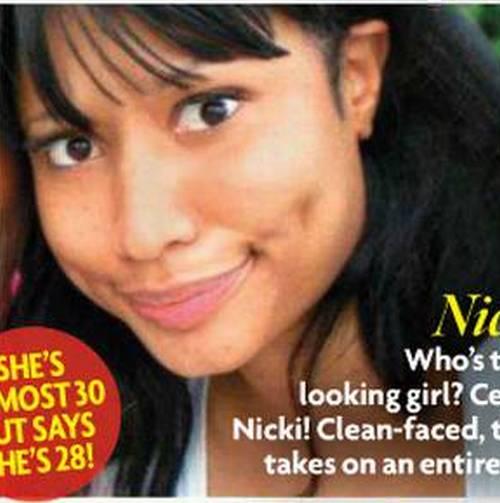 Foto de Nicki Minaj al natural como nunca la viste