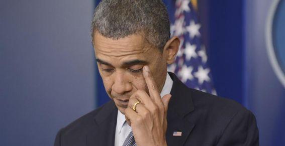 El llanto de Barack Obama por la matanza de niños en Connecticut