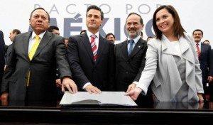 Todo sobre el Pacto por México firmado por Peña Nieto y partidos