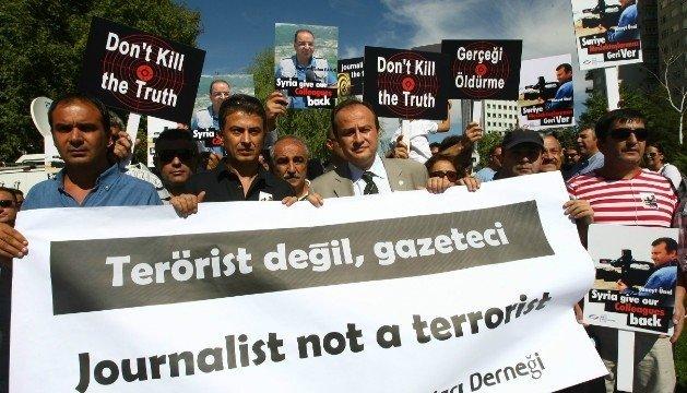 Los países que más encarcelan a periodistas