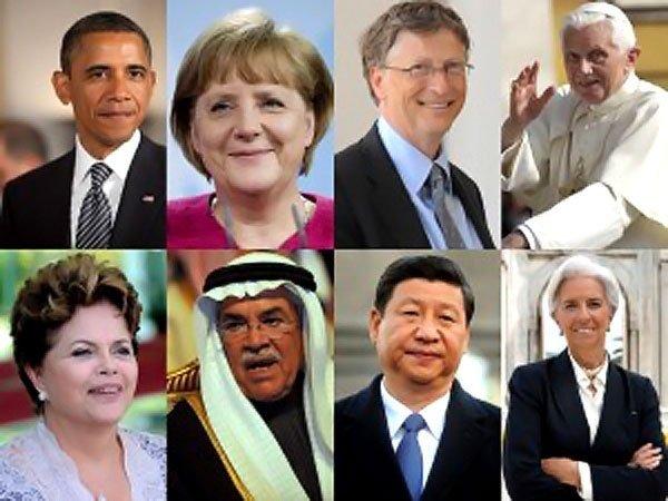 Quiénes son las personas más poderosas del mundo