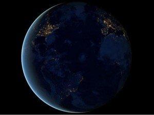 Video espectacular: La Tierra de noche como jamás la viste