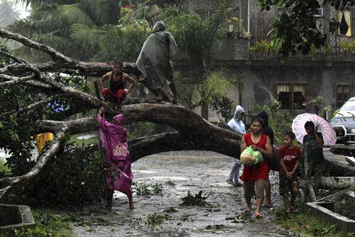 """Tifón """"Bopha"""" en Filipinas deja 54 muertos"""