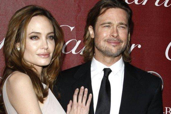 Angelina Jolie y Brad Pitt están en la dulce espera
