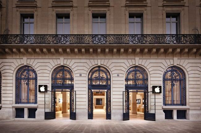 Roban Apple Store por un valor de un millón de euros
