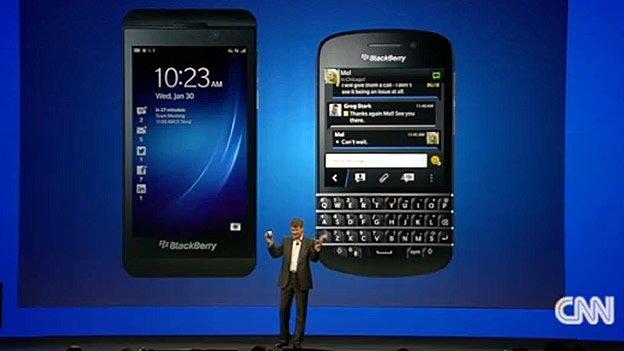 Características de BlackBerry 10