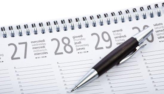 Cómo elaborar un calendario financiero