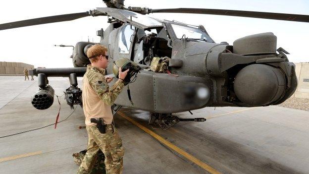 El príncipe Enrique mató talibanes en Afganistán