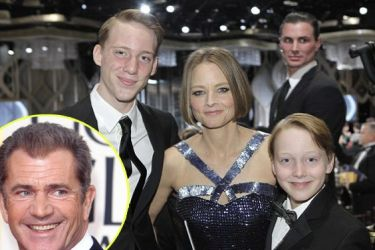 ¿Mel Gibson es el padre de los hijos de Jodie Foster?