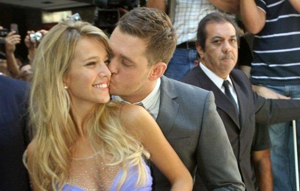 Michael Bublé y Luisana Lopilato esperan su primer hijo