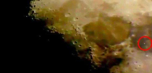 Video: Avistaje de un OVNI en el lado oscuro de la Luna