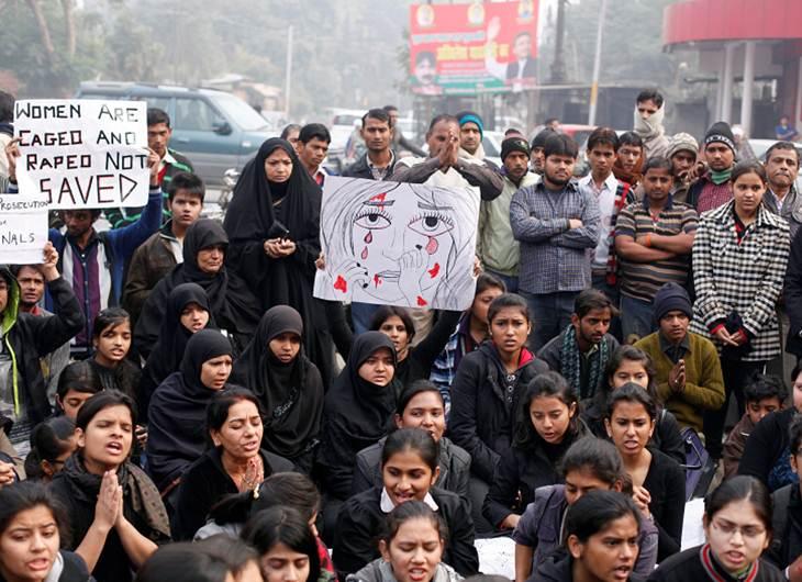 Exigen pena capital para violadores en India