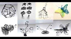 Bolígrafo 3D permite dibujar en el aire - Fotos