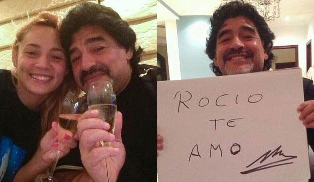 Fotos de la novia de 22 años de Diego Maradona