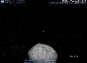 Fotos: éste el el asteroide que rozará la Tierra