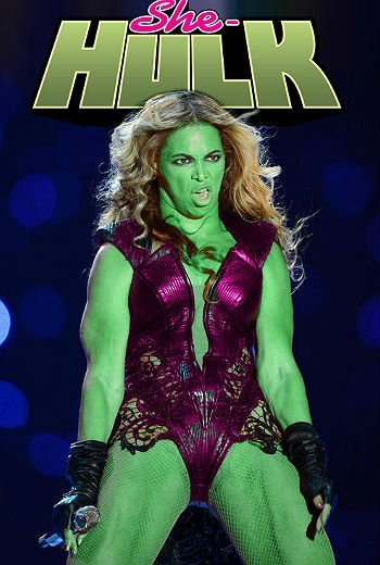 Fotos: Ridiculizaciones de Beyoncé en internet