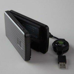 Una billetera funciona sólo con huella digital - Video