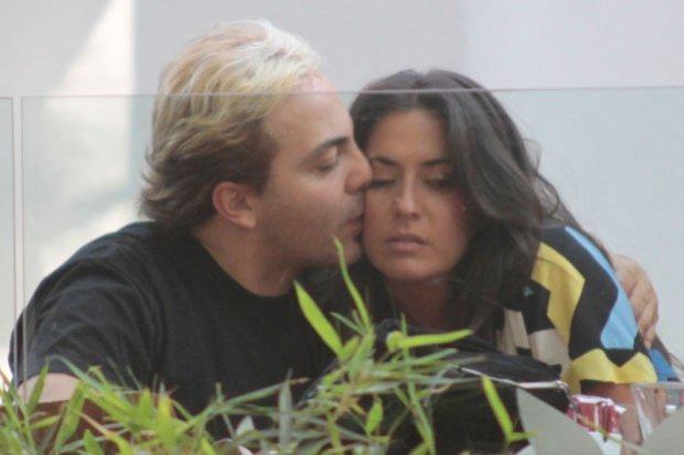 Fotos de Cristian Castro y su nueva novia