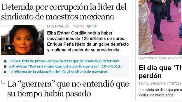 Así vió el mundo la detención de 'La Maestra' Elba Esther Gordillo