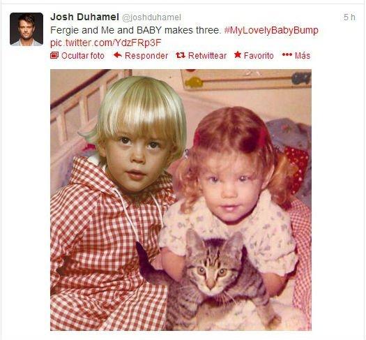 Fergie y Josh Duhamel esperan su primer hijo