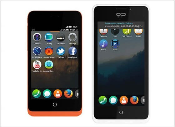 Así son los teléfonos Firefox - Fotos