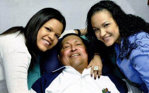 Hugo Chávez ya está en Venezuela