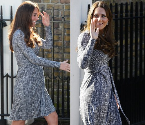 Fotos: Kate Middleton luce su embarazo