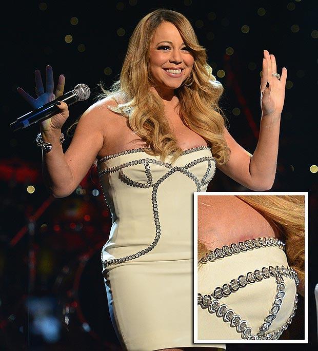 Mariah Carey muestra de más en evento de Hip-Hop - Foto