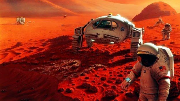 Preparan envío de dos humanos a Marte