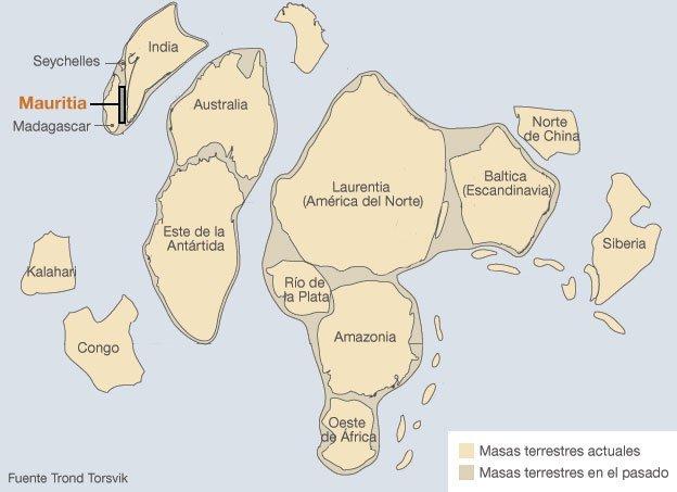 Hallan continente prehistórico escondido bajo el agua