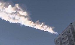 Videos espectaculares del meteorito que cayó en Rusia