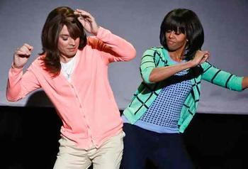 Video: el baile de Michelle Obama furor en la web